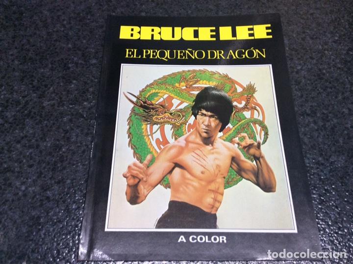 BRUCE LEE . EL PEQUEÑO DRAGON , 88 PAGINAS , NÚMEROSAS FOTOGRAFIAS, ARTES MARCIALES (Coleccionismo Deportivo - Revistas y Periódicos - otros Deportes)