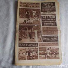 Coleccionismo deportivo: DICEN...LUNES 26 DE JUNIO 1967. Lote 98452231