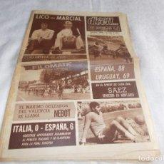 Coleccionismo deportivo: DICEN...SÁBADO 2 DE MAYO 1970. Lote 98454739