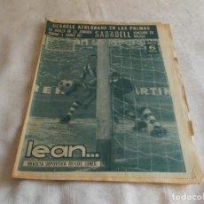 Coleccionismo deportivo: LEAN... REVISTA DEPORTIVA DE LOS LUNES 27 DE NOVIEMBRE DE 1967. Lote 98878471
