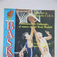 Coleccionismo deportivo: REVISTA NUEVO BASQUET / ENTREVISTA CON DALIPAGIC Nº 74 - JUNIO 1982 - BALONCESTO. Lote 99528127