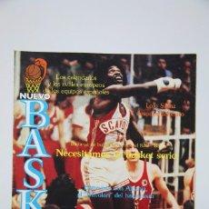 Coleccionismo deportivo: REVISTA NUEVO BASQUET / LOLO SÁINZ DESPUÉS DEL ÉXITO Nº 87 - DICIEMBRE 1982 - BALONCESTO. Lote 99530359