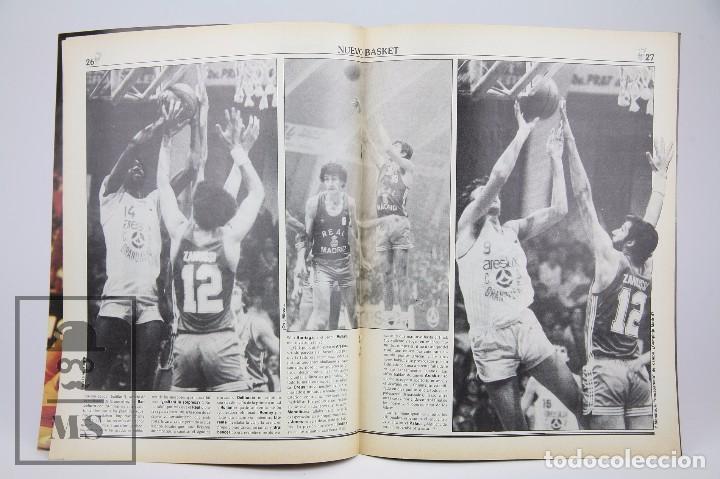 Coleccionismo deportivo: Revista Nuevo Basquet / Lolo Sáinz Después Del Éxito Nº 87 - Diciembre 1982 - Baloncesto - Foto 2 - 99530359