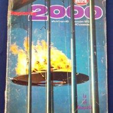 Coleccionismo deportivo: REVISTA DEPORTE 2000, NÚMERO 45 AÑO IV, 1972. EXTRA. LA XX OLIMPIADA EN MUNICH 72. OLIMPIADAS.. Lote 99805723