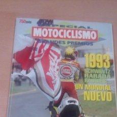 Coleccionismo deportivo: MOTOCICLISMO - ESPECIAL GRANDES PREMIOS 6 - 1993 - BUEN ESTADO . Lote 101774676
