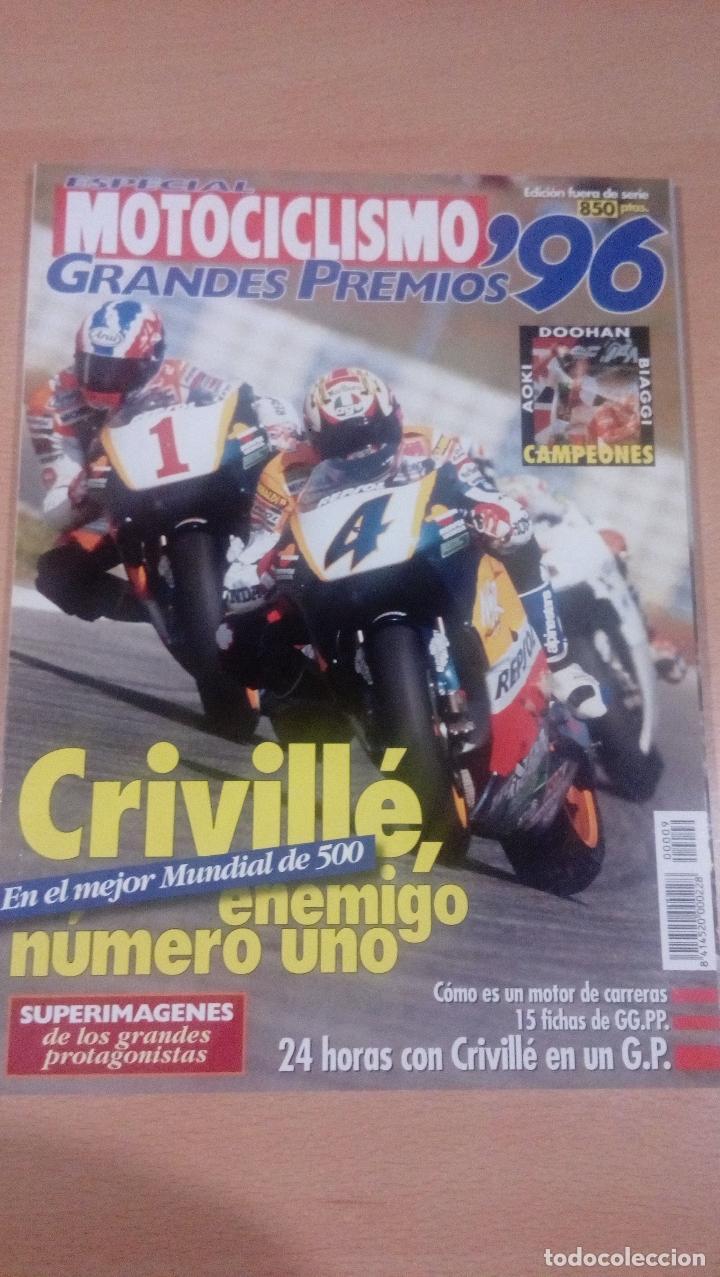MOTOCICLISMO - ESPECIAL GRANDES PREMIOS 9 - 1996 - BUEN ESTADO (Coleccionismo Deportivo - Revistas y Periódicos - otros Deportes)