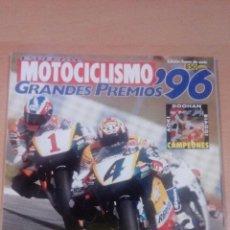 Coleccionismo deportivo: MOTOCICLISMO - ESPECIAL GRANDES PREMIOS 9 - 1996 - BUEN ESTADO . Lote 99844079