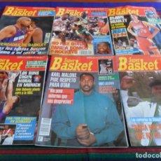 Coleccionismo deportivo: SUPER BASKET NºS 192 194 197 199 201 205 CON PÓSTER. AÑO 1993 225 PTS. REGALO NºS 178 Y 193. . Lote 100304067