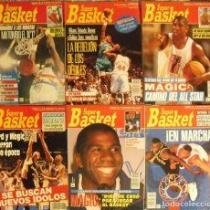 Coleccionismo deportivo: MAGIC JOHNSON - LOTE DE SEIS REVISTAS ''SUPERBASKET'' (1991 Y 1992) - NBA. Lote 101113427