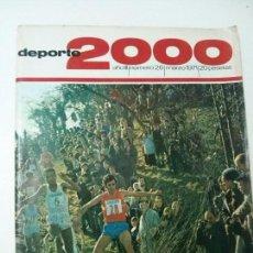 Coleccionismo deportivo: REVISTA DEPORTE 2000 - Nº 26 - MARZO 1971. Lote 101222447