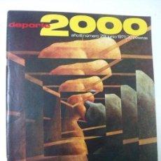 Coleccionismo deportivo: REVISTA DEPORTE 2000 - Nº 29 - JUNIO 1971. Lote 101222903