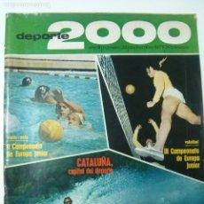 Coleccionismo deportivo: REVISTA DEPORTE 2000 - Nº 32 - SEPTIEMBRE 1971. Lote 101223383
