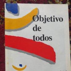 Coleccionismo deportivo: REVISTA COOB'92 -OBJETIVO DE TODOS, BARCELONA 92- A TRES AÑOS VISTA, OLIMPIADAS.+ PEGATINAS COBI.. Lote 101316423
