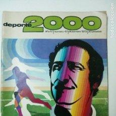 Coleccionismo deportivo: REVISTA DEPORTE 2000 - Nº 47 - DICIEMBRE 1972 - GENTO. Lote 101333275