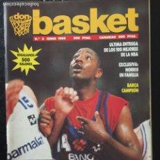 Coleccionismo deportivo: DON BASKET.N 3. INCLUYE PÓSTER. Lote 101834335