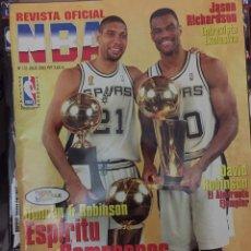 Coleccionismo deportivo: REVISTA Nº 131 JULIO 2003 NBA. SPURS CAMPEONES 2003. Lote 24146461