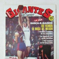 Collectionnisme sportif: GIGANTES DEL BASQUET Nº 75 1987 PEDRO RODRIGUEZ, POSTER DE JIM PETERSEN, SAMUEL PUENTE,. Lote 102008223