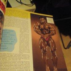 Coleccionismo deportivo: MUSCLE & FITNESS CUATRO VOLUMENES CON 18 EJEMPLARES DE FINALES 80 Y PRINCIPIOS 90. Lote 102374139