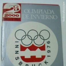 Coleccionismo deportivo: REVISTA DEPORTE 2000 - Nº 85 - FEBRERO 1976. Lote 102548519
