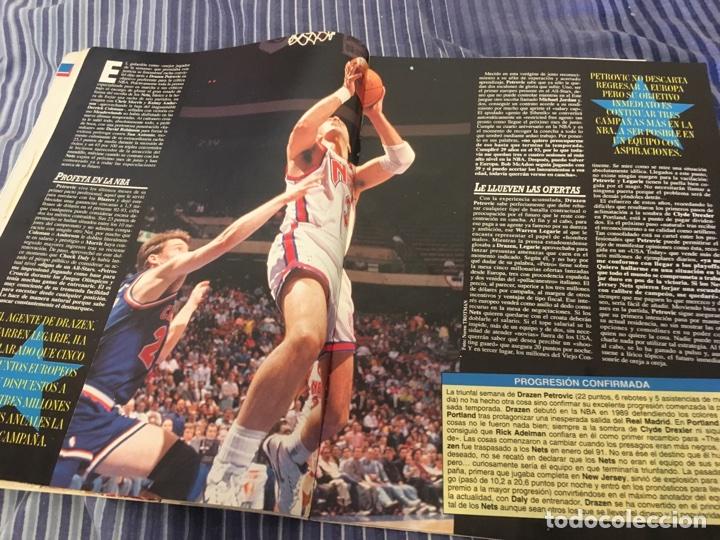 Coleccionismo deportivo: Petrovic NBA mvp superbasket - Foto 2 - 102913718