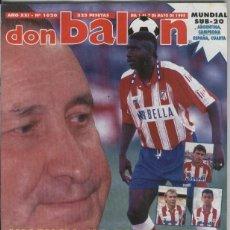 Coleccionismo deportivo: DON BALON NUMERO 1020. Lote 103312282