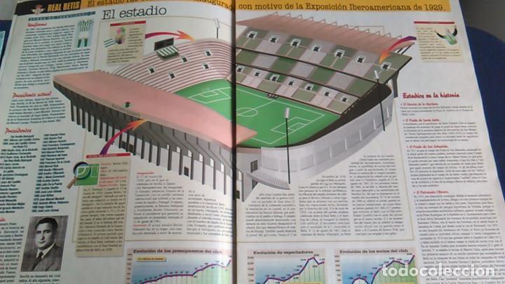 Coleccionismo deportivo: Real Betis Balompié, S.A.D. Historia de los clubes de primera división, nº 5. Especial Interviú. - Foto 3 - 103367635