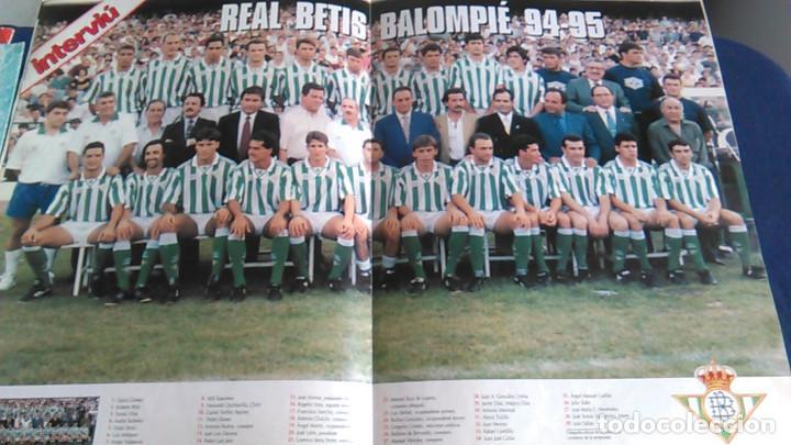 Coleccionismo deportivo: Real Betis Balompié, S.A.D. Historia de los clubes de primera división, nº 5. Especial Interviú. - Foto 4 - 103367635