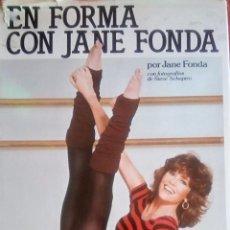 Coleccionismo deportivo: LIBRO JANE FONDA GIMNASIA AEROBIC AÑO 1982. Lote 103449767