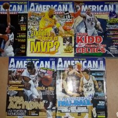 Coleccionismo deportivo: LOTE DE 5 REVISTAS AMERICAN SUPERBASKET. Lote 104212260