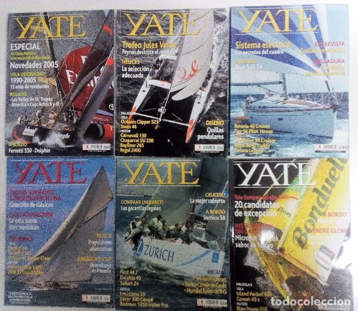 YATE LOTE DE 6 REVISTAS 2004-2005 VER FOTOGRAFÍAS Y DESCRIPCIÓN (Coleccionismo Deportivo - Revistas y Periódicos - otros Deportes)