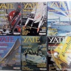Coleccionismo deportivo: YATE LOTE DE 6 REVISTAS 2004-2005 VER FOTOGRAFÍAS Y DESCRIPCIÓN. Lote 104287479