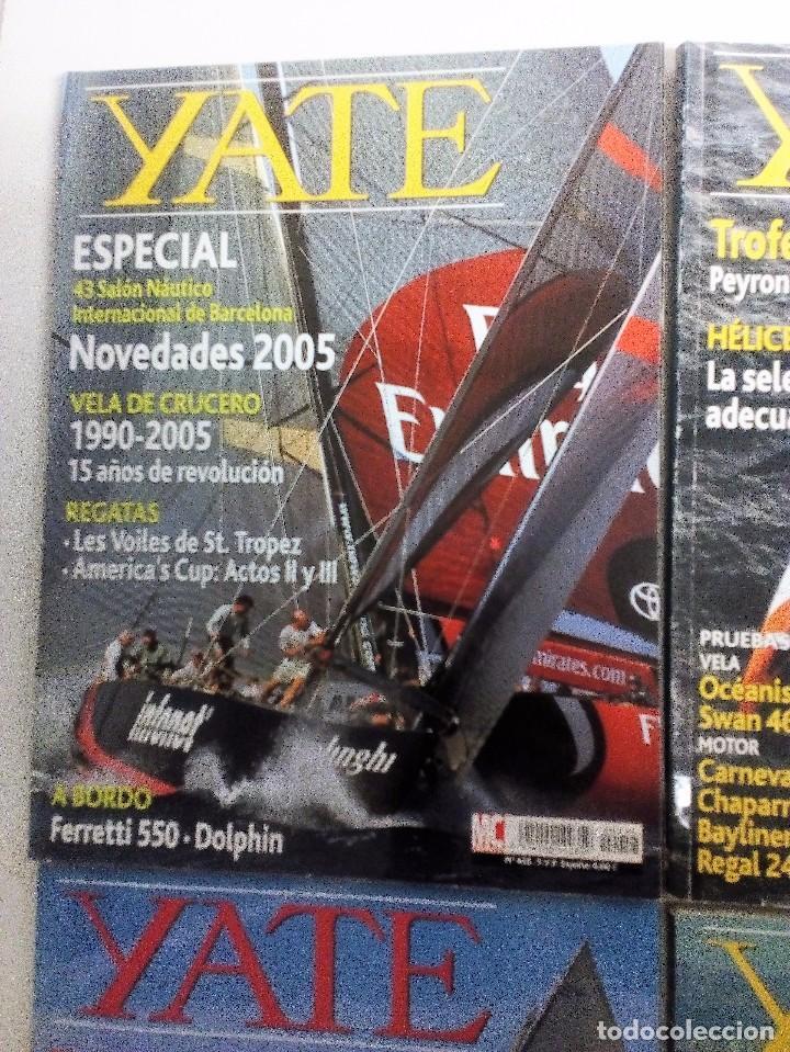 Coleccionismo deportivo: YATE LOTE DE 6 REVISTAS 2004-2005 VER FOTOGRAFÍAS Y DESCRIPCIÓN - Foto 2 - 104287479