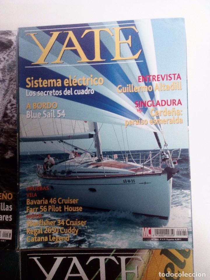Coleccionismo deportivo: YATE LOTE DE 6 REVISTAS 2004-2005 VER FOTOGRAFÍAS Y DESCRIPCIÓN - Foto 4 - 104287479