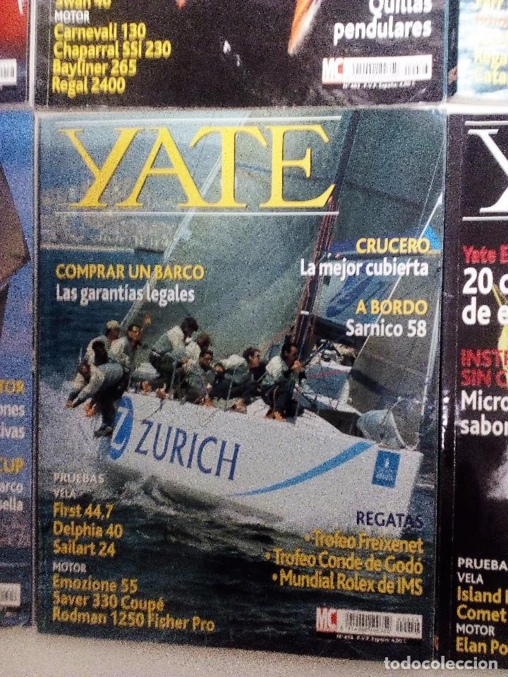 Coleccionismo deportivo: YATE LOTE DE 6 REVISTAS 2004-2005 VER FOTOGRAFÍAS Y DESCRIPCIÓN - Foto 6 - 104287479