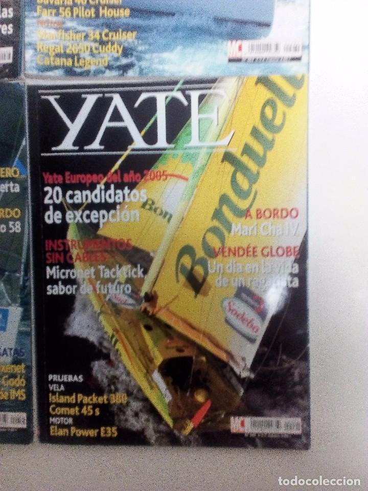 Coleccionismo deportivo: YATE LOTE DE 6 REVISTAS 2004-2005 VER FOTOGRAFÍAS Y DESCRIPCIÓN - Foto 7 - 104287479
