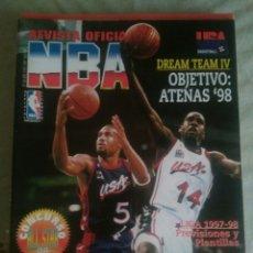 Coleccionismo deportivo: REVISTA OFICIAL NBA NÚMERO 68. Lote 104451591