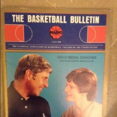 Coleccionismo deportivo: THE BASKETBALL BULLETIN (NABC) FALL 1984. Lote 104482739