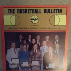 Coleccionismo deportivo: THE BASKETBALL BULLETIN (NABC) SUMMER 1978. Lote 104484019