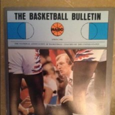 Coleccionismo deportivo: THE BASKETBALL BULLETIN (NABC) SPRING 1981. Lote 104484067