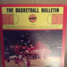 Coleccionismo deportivo: THE BASKETBALL BULLETIN (NABC) FALL 1981. Lote 104484083