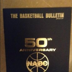 Coleccionismo deportivo: THE BASKETBALL BULLETIN (NABC) SPRING 1977 - 50 TH ANNIVERSARY -. Lote 104484131