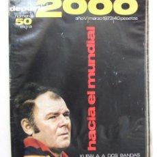 Coleccionismo deportivo: REVISTA DEPORTE 2000 Nº 50 EXTRA 1973 LADISLAO KUBALA MUNDIAL FUTBOL 1974. Lote 104614603