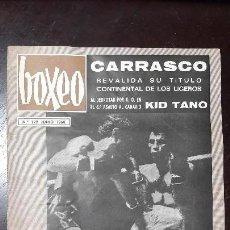 Coleccionismo deportivo: REVISTA BOXEO. PEDRO CARRASCO EN PORTADA..N °129 JUNIO 1968.. Lote 104737551