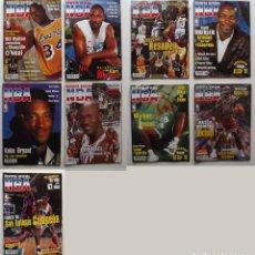 Coleccionismo deportivo: 9 REVISTAS NBA VALIOSAS. NÚMEROS 72, 73, 74, 75, 76, 77, 78, 81 Y 86. Lote 104949327