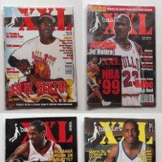 Coleccionismo deportivo: 6 REVISTAS XXL BASKET. VALIOSAS. AGOSTO 1998, 43, 46, 47, 57 Y XXL 1999. Lote 104951215