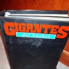 Coleccionismo deportivo: GIGANTES DEL BASKET TOMO CON REVISTA DEL 651AL675. Lote 105612278