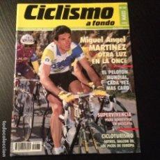 Coleccionismo deportivo: CICLISMO A FONDO Nº 83 - AÑO 1992 - MIGUEL ANGEL MARTINEZ - REVISTA BICI BICICLETA CICLISTA. Lote 105645035