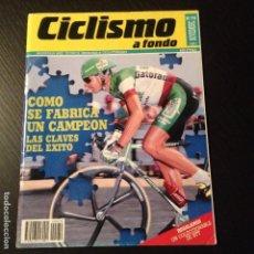 Coleccionismo deportivo: CICLISMO A FONDO Nº 79 - AÑO 1991 - COLECCIONABLE BTT - REVISTA BICI BICICLETA CICLISTA. Lote 105645491