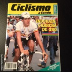 Coleccionismo deportivo: CICLISMO A FONDO Nº 77 - AÑO 1991 - COLECCIONABLE BTT - REVISTA BICI BICICLETA CICLISTA. Lote 105645867
