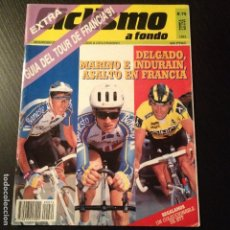 Coleccionismo deportivo: CICLISMO A FONDO Nº 75 EXTRA - AÑO 1991 - COLECCIONABLE BTT - REVISTA BICI BICICLETA CICLISTA. Lote 105645963